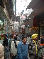 India - Delhi - 041 - Narrow streets of Old Delhi