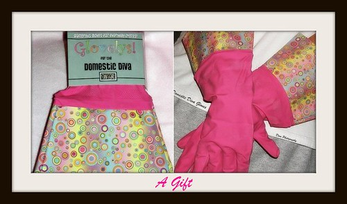 Domestic Diva Gloves by Domesticated Diva.