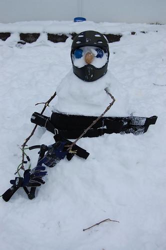 Rykert's Snowman 3 12-30-07