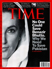 Cover of Time Magazine (Ammar Abd Rabbo) Tags: pakistan red blackandwhite look nikon shot time top cover terrorism ammar publication assassination timemagazine benazir benazirbhutto ammarabdrabbo