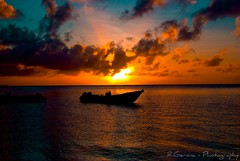 Tropical boats and sunset (neodelphi) Tags: sunset island paradise tropical saipan superaplus aplusphoto neodelphi superbmasterpiece diamondclassphotographer goldstaraward sonyalphaboats
