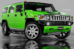 CARs shoting (Fawaz Al Nashmi) Tags: green cars car wheel photo kuwait hummer 2008 fawaz q8 svu funzy d80 nikond80 aplusphoto alnashmi funzyclick worldofcars
