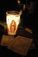 La dolorosa (Newber) Tags: money glass bar table mexico check pub candle wine marlboro vela vinho sancristobaldelascasas isqueiro dinheiro conta guadalupana cafelarevolucion nossasenhoradeguadalupe lightener