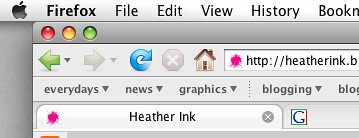 Heather Ink favicon