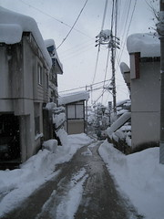 Village - street 03 (drayy) Tags: snow ski japan skiing village onsen hotspring nagano  snowcovered   nozawaonsen
