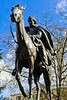 The Circuit Rider - a statue at the Oregon State Capitol Building in Salem Oregon