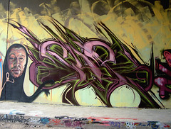 Breakone ::::: Sup (MiztaHBusH ::::: DivineZeal) Tags: graffiti break budapest colored dz cfs divinezeal coloredeffects