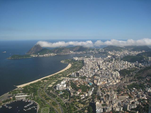 ريو من الطائرة