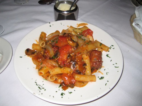 Our Italian meal at Lucheno's in Freehold, NJ