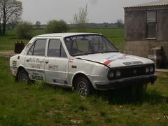 Skoda Rally Car (tatrakoda) Tags: classic car automobile rally rusty estelle skoda koda 10millionphotos