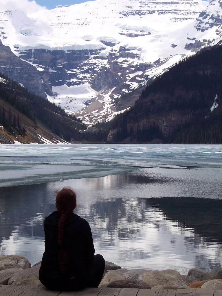 myself in front of Lake Louise 2