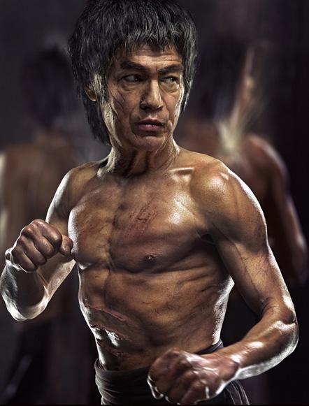Bruce Lee par Andrzej Dragan