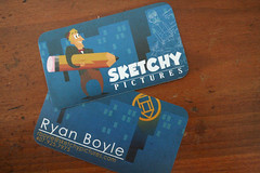 New Business Cards! (sketchy pictures) Tags: pictures sketchy cards business sketchypictures