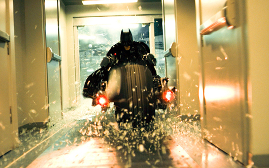 Christian Bale como Batman en 'El caballero de la noche'