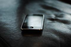 iPhone made exlusive (Jan Charles Linus Ekenstam) Tags: nerd apple toy 50mm mac geek sweden bokeh gadget gadgets iphone 50mmf18 falkenberg nikond40 linusekenstam wearesuperfamous loveiphone