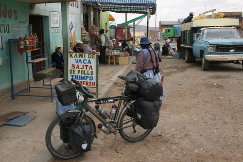 Lunch break in Konani, Bolivia.