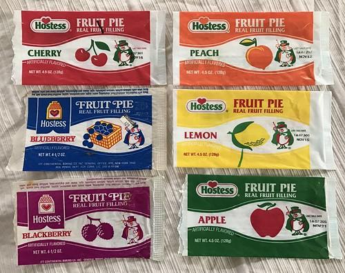 Vintage Hostess Fruit Pie Wrappers Magician