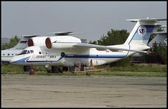 RA-74052 - Moscow Zhukovsky (ZHU) 17.08.2001 (Jakob_DK) Tags: 2001 maks2001 zia uubw moscow moscowzhukovsky antonov antonov74 an74 coaler cargo an74200 albyansavia lmm yamal yamalairlines