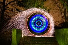 275 Windstärke 8 (Sven Gérard (lichtkunstfoto.de)) Tags: lightart lapp lightartperformancephotography lightpainting light lights art painting lichtkunst lichtmalerei sooc glpu bulb longexposure pyro fireworks