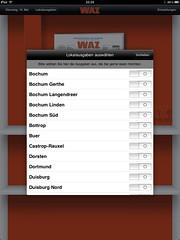 WAZ-Zeitungskiosk (App für das Apple iPad)