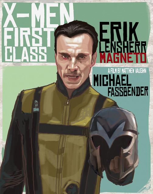 X-men Erik Lansherr magneto rocketraygun kelvin chan