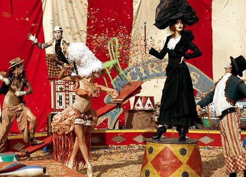 Circus Inspired Fashion Designers
