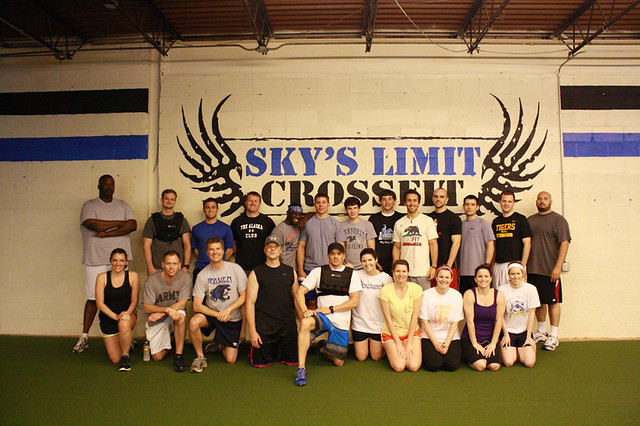 Sky's Limit CrossFit Memorial Day group