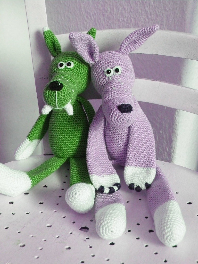 The World\'s newest photos of amigurumi and wolf - Flickr Hive Mind