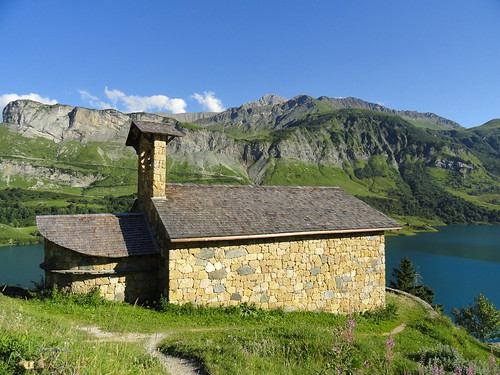 Roselend, chapelle Ste-Madeleine © D. Dereani, Fondation Facim