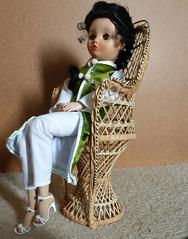 Cherry Blossom Dollikin (angelynx_prime) Tags: doll uneeda vintagedoll americandoll dollikin