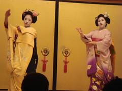 Maiko-san in Gion Corner, Kyoto (Namisan) Tags: japan dance kyoto traditional maiko kimono gion maikosan kyomai yasuha