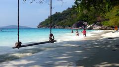 The Swing on the Beach, Thailand (_takau99) Tags: ocean trip travel blue sea vacation sky holiday beach nature water topv111 thailand island lumix islands topv555 topv333 marine asia southeastasia honeymoon indian topv1111 topv999 indianocean topv444 321 swing topv222 panasonic thai tropical april topv777 phuket topv666 similan khaolak 2007 andaman andamansea topv888 honeymoonbay similanislands fx30 similanisland takau99 edive dmcfx30