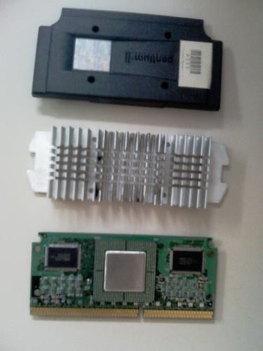Pentium II desmontado