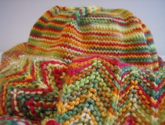 Chili Pepper Scarf and Hat