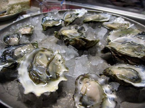 Yeah, that's 7 different kinds of oysters.