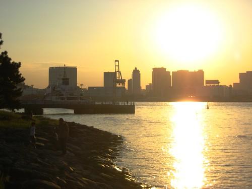Toyko Bay at Sunset