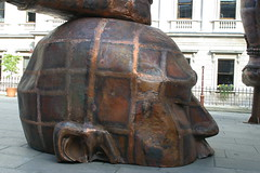 Big Head 3 (swatman67) Tags: sculpture art scale bronze big artist head massive