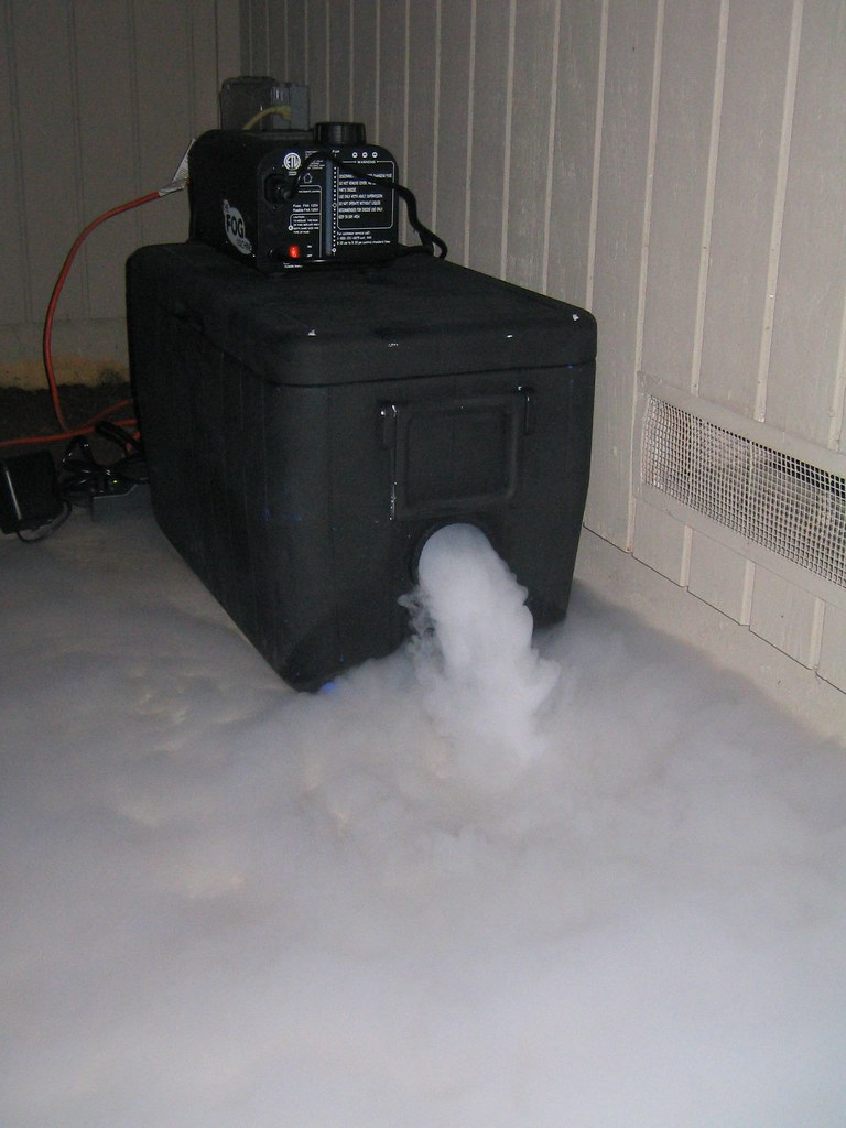 Fog Machine In Action