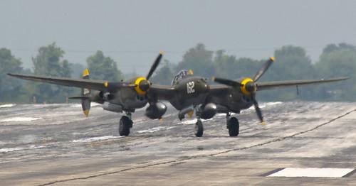 Warbird picture - P-38 heat distortion