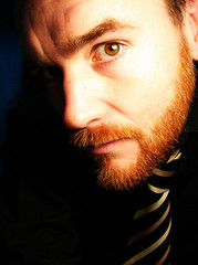 Gone feral again (archidave) Tags: red wild me self beard ginger fuzzy mememe beardy fuzz selfpic feral weirdybeardy