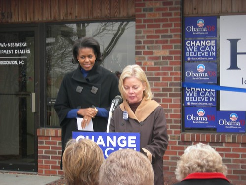 Michelle at West Des Moines, IA Office Opening 11/29/07