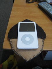 Acorn iPod Cozy - Size Comparison