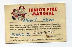 Junior Fire Marshal