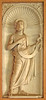 St John the Baptist in the Lateran cloister (Lawrence OP) Tags: rome advent cloister prophet lateran stjohnthebaptist