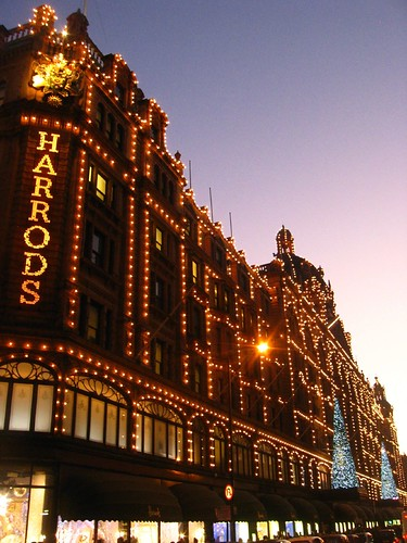 London - Harrods at Christmas 2