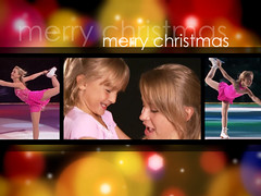 Wallpaper for Katia's Girls - Merry Christmas 2