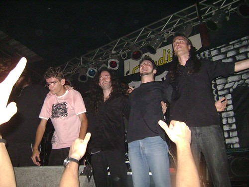 Banda Shadow's Fantasy encerrando o show e o festival no Estudio