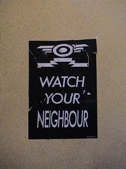 12 Days of Xmas - Watch Your Neighbour (gusset) Tags: xmas old art station bristol graffiti graf police 12days bridewell