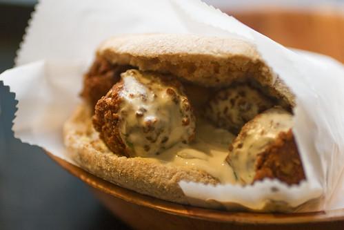 harissa falafel
