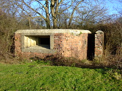 WW II fortification (John Spooner) Tags: wwii hampshire creativecommons pillbox basingstokecanal ghqline johnspooner basingsokecanal ghqstopline